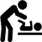 Baby verschoon ruimte kopermolen Leiden